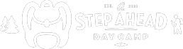 A Step Ahead Day Camp NEW Logo